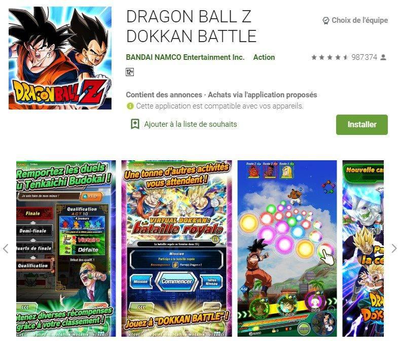 Dragon Ball Z Dokkan Battle PC