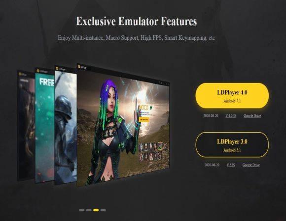 Émulateur Android pour PC: LD Player