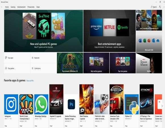 télécharger App Store pour PC